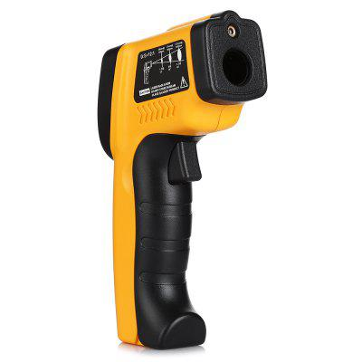 GM320 Infrared ThermometerLaser Rangefinder, Electronic Distance Meter<br>GM320 Infrared Thermometer<br><br>Package Contents: 1 x Infrared Thermometer, 1 x English Manual<br>Package size (L x W x H): 20.00 x 14.00 x 4.00 cm / 7.87 x 5.51 x 1.57 inches<br>Package weight: 0.1670 kg<br>Product size (L x W x H): 15.00 x 11.00 x 3.00 cm / 5.91 x 4.33 x 1.18 inches<br>Product weight: 0.1440 kg<br>Range: -50-380 Degree Celsius,-58-716 Fahrenheit<br>Temperature Type: Celsius, Fahrenheit