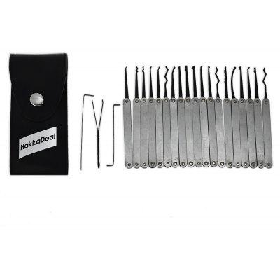 HakkaDeal ZH - 446693 22PCS Haken Lock Pick Tools