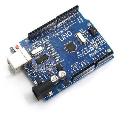UNO R3 ATMEGA328P DC 5V Development Board produino digital 3 axis acceleration of gravity tilt module iic spi transmission for arduino