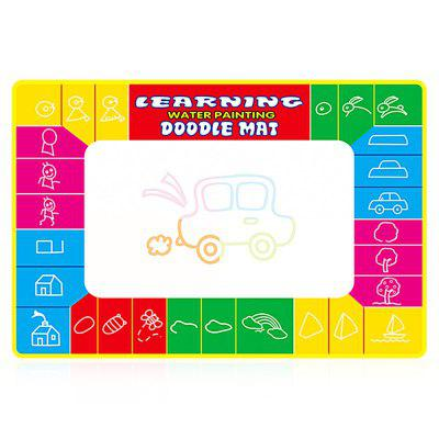 Kid Water Drawing Mat Doodle Board Educational ToyOther Educational Toys<br>Kid Water Drawing Mat Doodle Board Educational Toy<br><br>Completeness: Finished Goods<br>Gender: Unisex<br>Materials: Other<br>Package Contents: 1 x Drawing Mat, 2 x Pen, 1 x Drawing Mat, 2 x Pen<br>Package size: 50.00 x 38.00 x 2.00 cm / 19.69 x 14.96 x 0.79 inches, 50.00 x 38.00 x 2.00 cm / 19.69 x 14.96 x 0.79 inches<br>Package weight: 0.1450 kg<br>Product size: 74.00 x 49.00 x 0.50 cm / 29.13 x 19.29 x 0.2 inches, 74.00 x 49.00 x 0.50 cm / 29.13 x 19.29 x 0.2 inches<br>Product weight: 0.1200 kg<br>Stem From: China