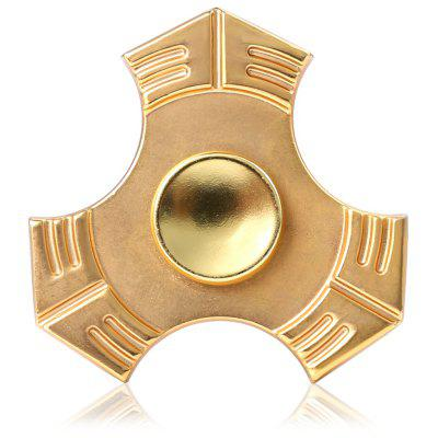Tri-blade Bagua Gold ADHD Spinner Metal Fidget Toy