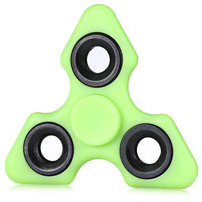 Tri-bar Florescent Fidget Spinner Focus Toy for Stress Relief