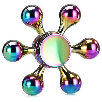 Colorful Six-arm Style Fidget Spinner EDC Item Toy