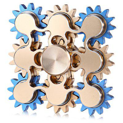 Nine-gearwheel Screw Hand Fidget Spinner ADHD Focus Toy