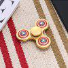 Three-leaf American Style Stainless Steel Fidget Spinner - GOLDEN