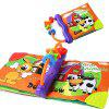 Baby English Cloth Book Toy - COLORMIX