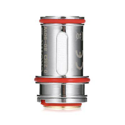 4pcs UWELL Crown 3 0.25 ohm CoilsAccessories<br>4pcs UWELL Crown 3 0.25 ohm Coils<br><br>Brand: Uwell<br>Material: Stainless Steel<br>Package Contents: 4 x Coil<br>Package size (L x W x H): 8.00 x 4.00 x 1.80 cm / 3.15 x 1.57 x 0.71 inches<br>Package weight: 0.0550 kg<br>Product size (L x W x H): 2.50 x 1.50 x 1.50 cm / 0.98 x 0.59 x 0.59 inches<br>Product weight: 0.0110 kg<br>Resistance: 0.25 ohm