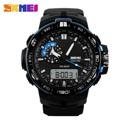 SKMEI 1081 Fashion Japan Movement LED Sports Men Watch