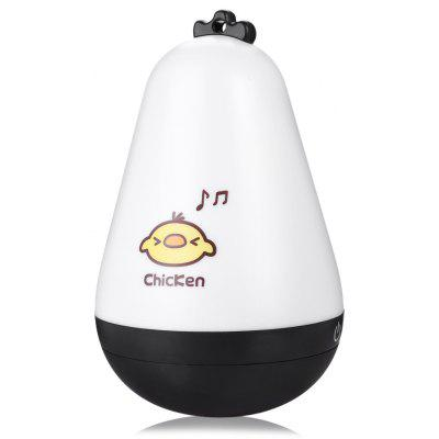 Cute Chicken Roly-poly Night Light Table Lamp USB Charging