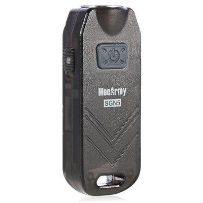 MecArmy SGN5 Keychain Black Flashlight