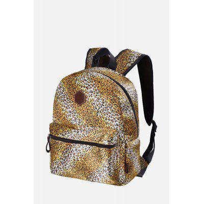 Buy YELLOW Douguyan Female Leisure Leopard Print 14L Backpack for $29.24 in GearBest store