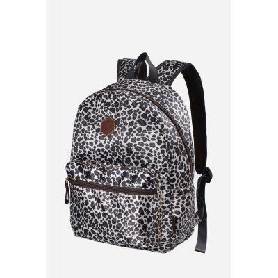 Buy BLACK Douguyan Female Leisure Leopard Print 14L Backpack for $29.24 in GearBest store