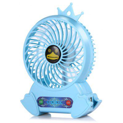 Penguin Low Noise Mini Handheld 3-speed Portable Electric Fan