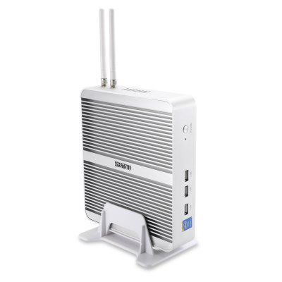 Hystou FMP03B i7 5550U Mini PCMini PC<br>Hystou FMP03B i7 5550U Mini PC<br><br>5G WiFi: No<br>Antenna: Yes<br>Audio format: TrueHD, RM, QCP, OGG, OGA, MPEG, MP3, MKA, M4A, HD, DTS, DDP, APE, WAV, WMA<br>Bluetooth: Bluetooth4.0<br>Brand: HYSTOU<br>Core: Dual Core<br>CPU: Intel Core i7 5500U<br>Decoder Format: H.264, HD MPEG4, H.265, H.263<br>DVD Support: Yes<br>External Subtitle Supported: Yes<br>GPU: Intel HD Graphic 5500<br>HDMI Function: HDCP, CEC, HEC<br>HDMI Version: 2.0<br>Interface: VGA, USB2.0, RJ45, MIC Input &amp; Line Out, HDMI, DC Power Port, USB3.0<br>Language: English,Germany,Japanese,Multi-language,Simplified Chinese<br>Maximum External Hard Drives Capacity: 1TB<br>Model: FMP03B i7 5550U<br>Other Functions: PAL, NTSC, Miracast, DLNA, 3D Video, 3D Games<br>Package Contents: 1 x Mini PC, 1 x Desk Mount, 2 x WiFi Antenna, 1 x Power Adapter, 1 x Power Cord, 1 x Screw Bag, 1 x English User Manual<br>Package size (L x W x H): 31.50 x 26.00 x 8.00 cm / 12.4 x 10.24 x 3.15 inches<br>Package weight: 2.3100 kg<br>Photo Format: JPEG, GIF, BMP, jps(3D), mpo(3D), JPG, PNG, TIFF<br>Power Consumption.: 15W<br>Power Supply: Charge Adapter<br>Power Type: External Power Adapter Mode<br>Product size (L x W x H): 20.30 x 18.00 x 4.80 cm / 7.99 x 7.09 x 1.89 inches<br>Product weight: 1.5580 kg<br>RAM: 4G RAM<br>RAM Type: DDR3L<br>Remote Controller Battery: 2 x AAA Battery ( Not Included )<br>RJ45 Port Speed: 1Gbps<br>ROM: 128G ROM<br>Support 5.1 Surround Sound Output: Yes<br>System: Linux,Windows<br>System Bit: 64Bit<br>Type: Mini PC<br>Video format: RV10, RMVB, MPEG, MVS, RM, MVC, MPG, MPEG4, MPEG2, MPEG1, MPEG-4, WMV, MP4, MOV, PMP, 4K, ASF, AVC, AVI, AVS, 1080P, BD, DAT, DIVX, FLV, M4V, MJPEG, MKV, MPEG-1<br>WiFi Chip: Broadcom BCM94313HMGB