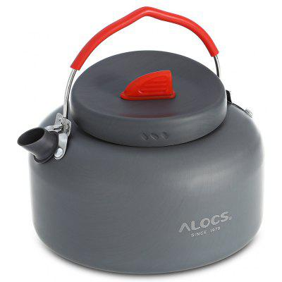 ALOCS CW-K04 PRO Outdoor Kettle + Spirit Burner Cookware Kit
