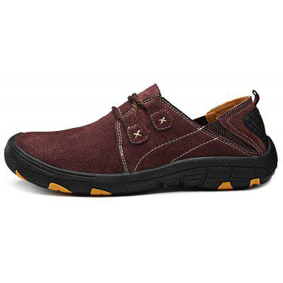 Outdoor Anti-slip Hiking ShoesAthletic Shoes<br>Outdoor Anti-slip Hiking Shoes<br><br>Available Size: 38, 39, 40, 41, 42, 43, 44,45<br>Closure Type: Lace-Up<br>Features: Anti-slip, Durable<br>Gender: Men<br>Highlights: Breathable<br>Package Contents: 1 x Pair of Shoes<br>Package size: 33.00 x 22.00 x 11.00 cm / 12.99 x 8.66 x 4.33 inches<br>Package weight: 0.9580 kg<br>Product weight: 0.6000 kg<br>Season: Summer, Spring, Autumn<br>Sole Material: Rubber