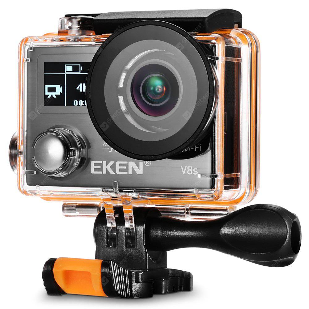 EKEN V8s 4K WiFi Action Sports Camera with Ambarella A12S75 Chipset / EIS Anti-shake Function