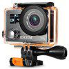 EKEN V8s 4K WiFi Action Sports Camera with 2.4G Remote Controller - BLACK