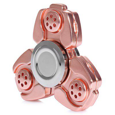 Hollow Triple Hand Fidget Spinner ADHD Focus Toy