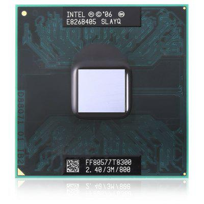 Original Intel T8300 Series 2.4GHz Dual Core PGA478 CPU