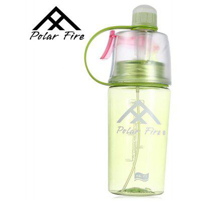 PolarFire Outdoor Spray Mist Plastic Water Bottle