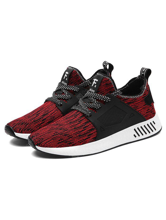 RED 40 Woven Upper Running Shoes