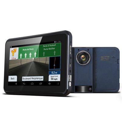 M80S 720P 160 Degree DVR Camera Car GPS Navigation