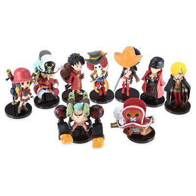 Modèle de Figurine d'Animation Collectible - 9pcs / set