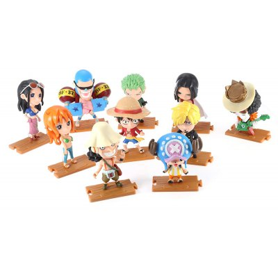 Modèle de Figurine d'Animation Collectible - 10pcs / set