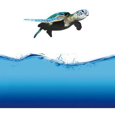 BLT - 001 - 06 3D Sea Turtle Bathroom Glass Door Sticker