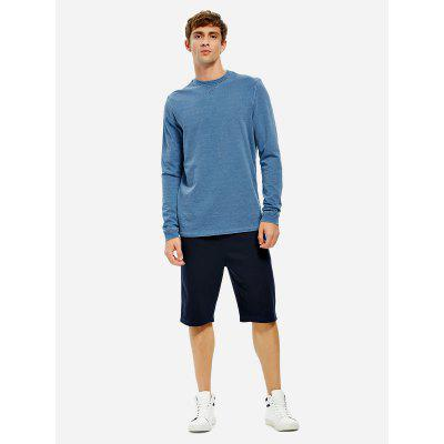Men Crew Neck Long Sleeve Sweatshirt