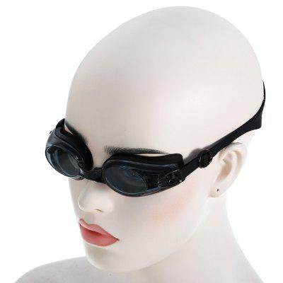 Adults Anti-fog Swimming Glasses with Elastic Silicone Pad