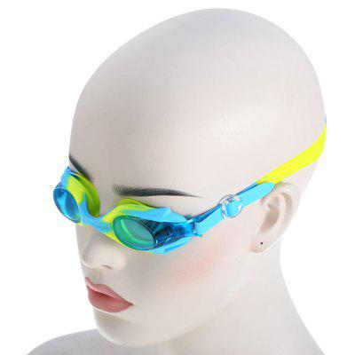 Kids Cute Anti-fog Swimming Glasses with Elastic Silicone Pad