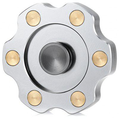 Round Gear Type Spinner Fidget EDC ADHD Focus Toy