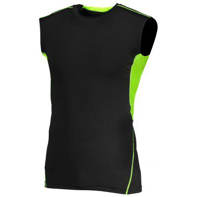 CTSmart Breathable Quick-drying Elastic Training Vest T-shirt