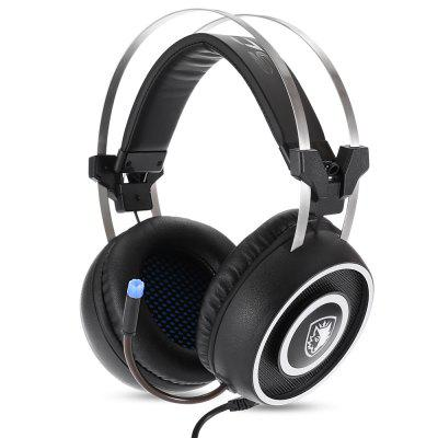 Sades A9 Over-ear Gaming Headset Sound Proof Headphones
