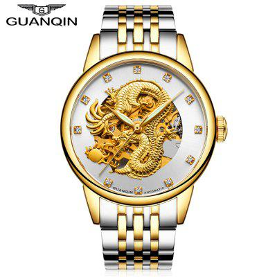 GUANQIN GJ16059 Men Auto Mechanical Watch