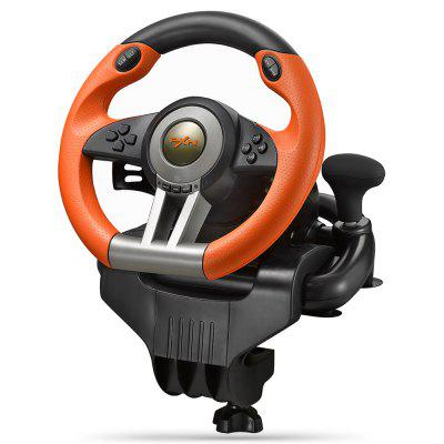 PXN - V3II USB Game Racing Wheel  -  ORANGE-vente flash
