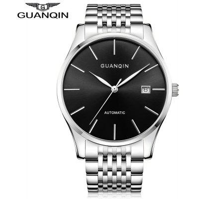 GUANQIN GJ16056 Men Auto Mechanical Watch