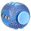 Crack ABS Stress Reliever Fidget Cube for Worker - BLUE