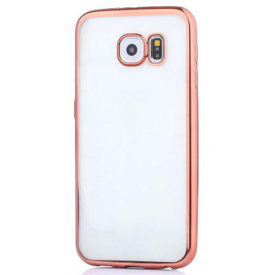 ASLING TPU Soft Protective Case for Samsung Galaxy S6 Electroplated Frame