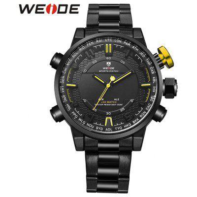 WEIDE 6402 Men Dual Movt Watch