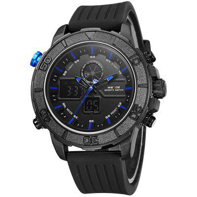 WEIDE 6108 Men Dual Movt Watch