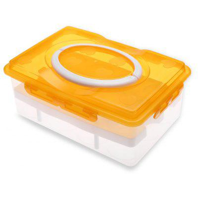 2-tier Egg Holder Storage Box