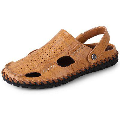 Genuine Leather Summer Fisherman Sandals