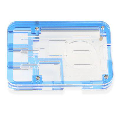 Acrylic Assembled Rainbow Case for Raspberry Pi 3 Model B / 2B / B +Raspberry Pi<br>Acrylic Assembled Rainbow Case for Raspberry Pi 3 Model B / 2B / B +<br><br>Package Contents: 1 x Raspberry Pi Acrylic 5-shell Case<br>Package Size(L x W x H): 12.00 x 8.00 x 3.00 cm / 4.72 x 3.15 x 1.18 inches<br>Package weight: 0.0650 kg<br>Product Size(L x W x H): 9.00 x 6.30 x 1.40 cm / 3.54 x 2.48 x 0.55 inches<br>Product weight: 0.0400 kg<br>Raspberry Pi Type: Case