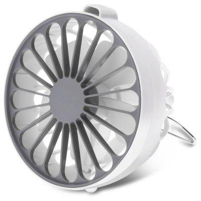 Dajiange, DJG001, tragbarer superleiser Mini- Ventilator mit Anion-Funktion