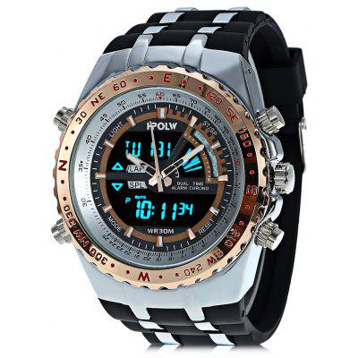 HPOLW 584B Men Dual Movt Watch