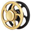 Steering Wheel Hand Spinner with Zinc Alloy Stress Reliever Toy - BLACK