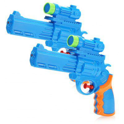 Water Gun Air Pressure System Plastic Toy - 2pcs / set